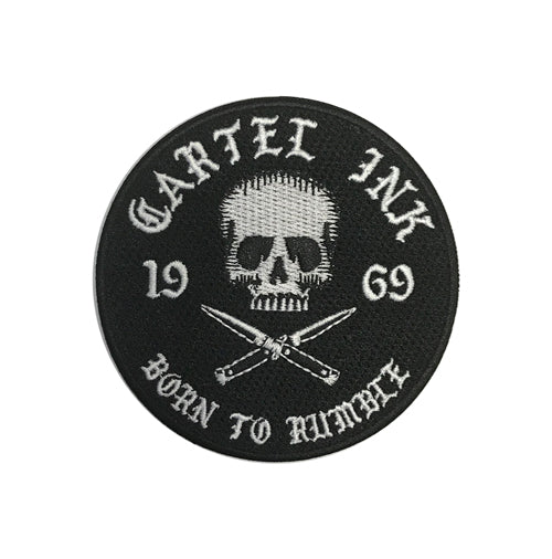 Born To Rumble Embroidered Patch
