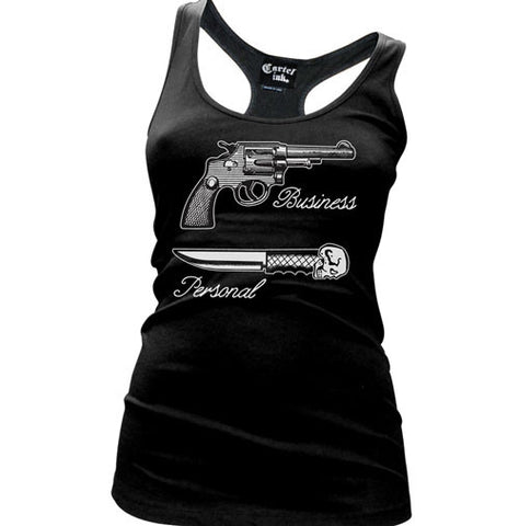 Why So Serious? Women's Racer Back Tank Top