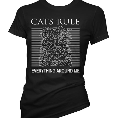 Cats Rule Everything Around Me Women's T-Shirt