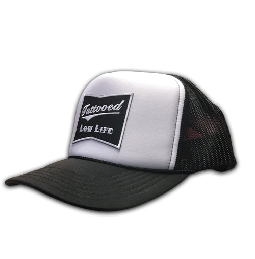 Classick 2 Tone Tattooed Low Life Trucker Hat