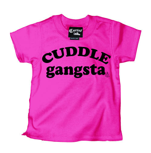 Cuddle Gangsta Kid's T-Shirt