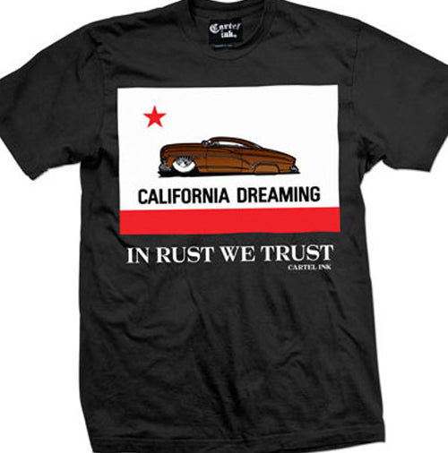 California Dreaming Front Print Men's T-Shirt