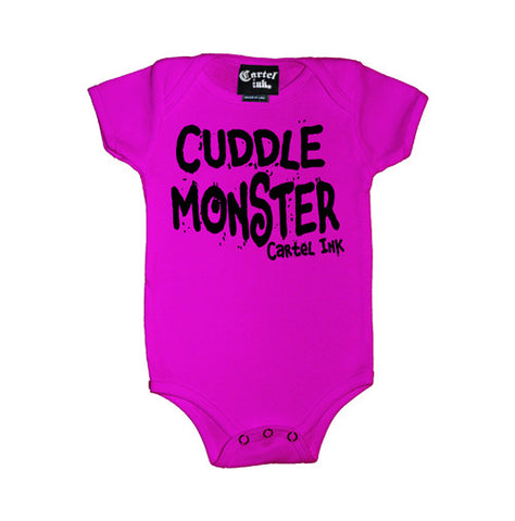 Cuddle Monster Infant's Onesie