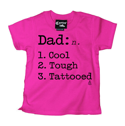 The Definition of Dad Kid's T-Shirt