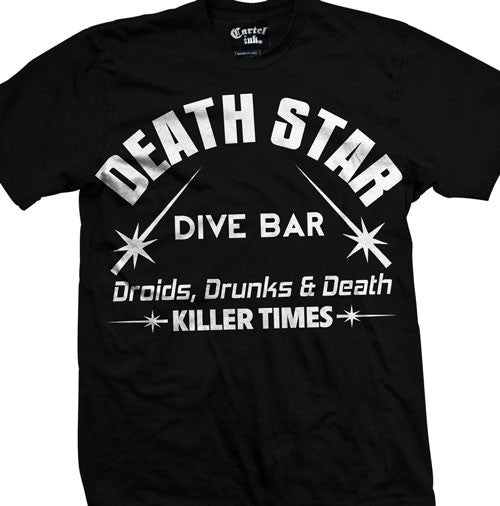 Death Star Dive Bar Men's T-Shirt