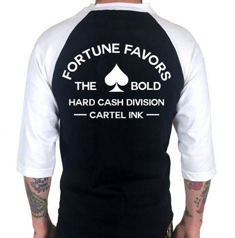 Fortune Favors the Bold 3/4 Sleeve Jersey