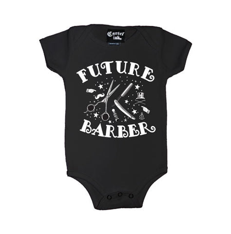 Future Barber Infant's Onesie