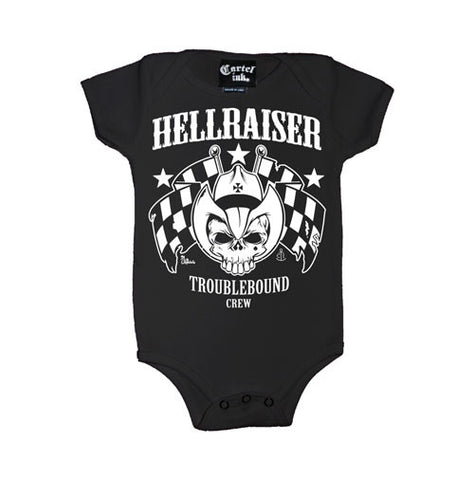 Hellraiser Troublebound Crew Infant's Onesie
