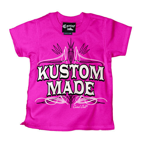 Kustom Made Pink Kid's T-Shirt