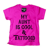 My Aunt is Cool and Tattooed Kid's T-Shirt