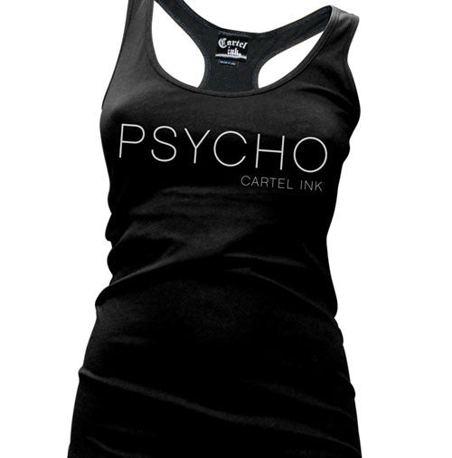 Psycho Women's Racer Back Tank Top