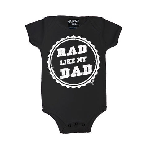 Rad Like My Dad Infant's Onesie