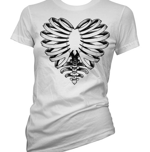 Skeleton Heart Women's T-Shirt