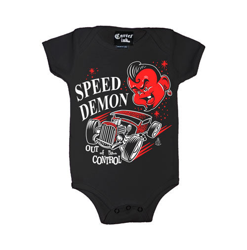 Speed Demon Out of Control Infant's Onesie