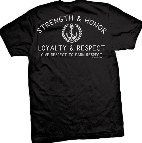 Strength and Honor Men's T-Shirt