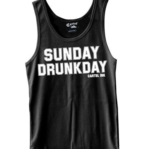 Sunday Drunkday Men's Tank Top