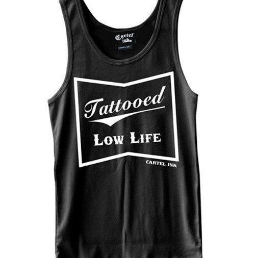 Tattooed Low Life Men's Tank Top | Tattoo Clothing