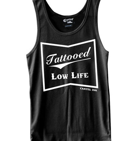 Tattooed Low Life Women's Racer Back Tank Top