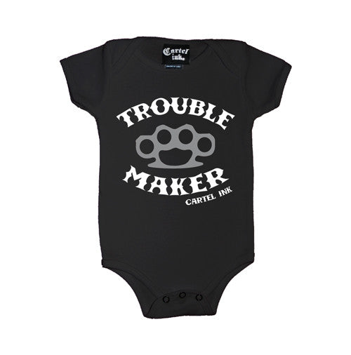 Trouble Maker Infant's Onesie