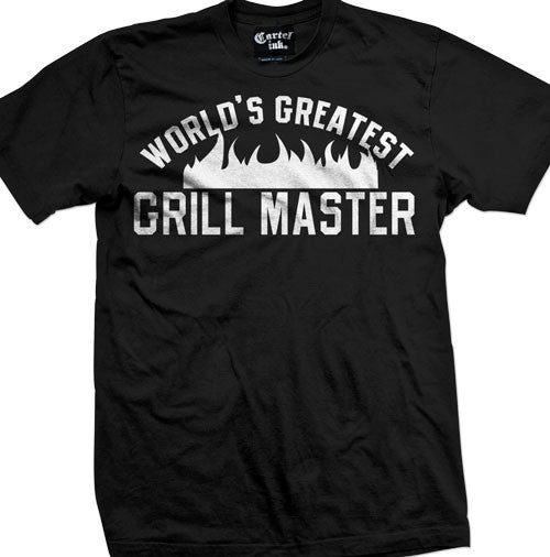 World's Greatest Grill Master Men's T-Shirt
