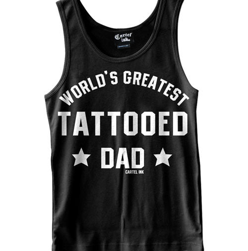 World's Greatest Tattooed Dad Men's Tank Top