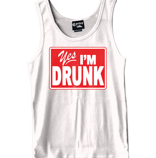 Yes I'm Drunk Men's Tank Top