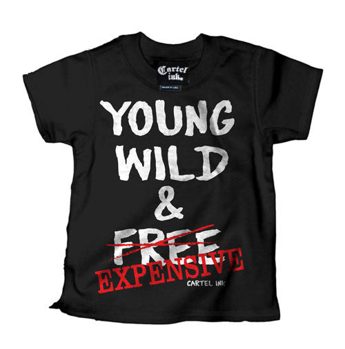 Young Wild and Free Kid's T-Shirt