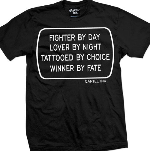 Fighter By Day Men's T-Shirt