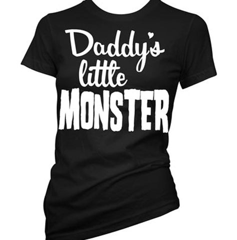 Daddy's Little Monster Women's T-Shirt