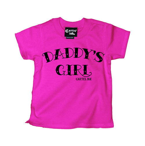 Daddy's Girl daddys girl kids tee