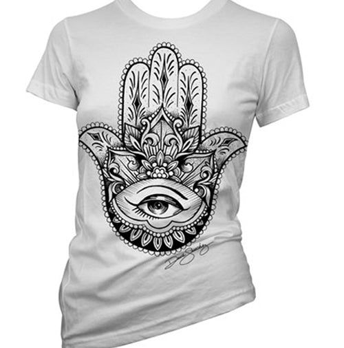 Hamsa Tattoo Women's T-Shirt