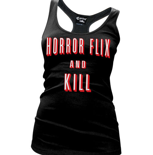 Horror Flix and Kill Women's Racer Back Tank Top