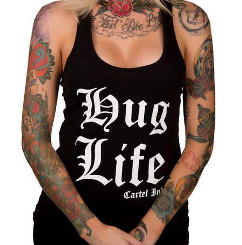Hug Life Women's Racer Back Tank Top