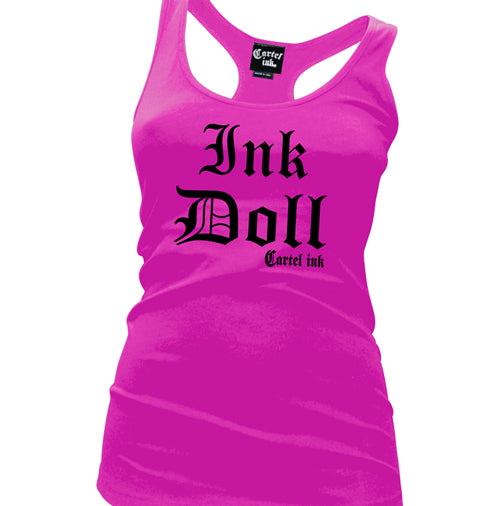 Ink Doll Women's Racer Back Tank Top