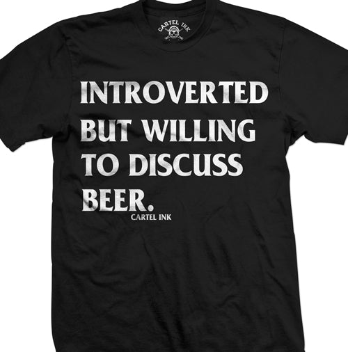 Introverted Beer Men's T-Shirt