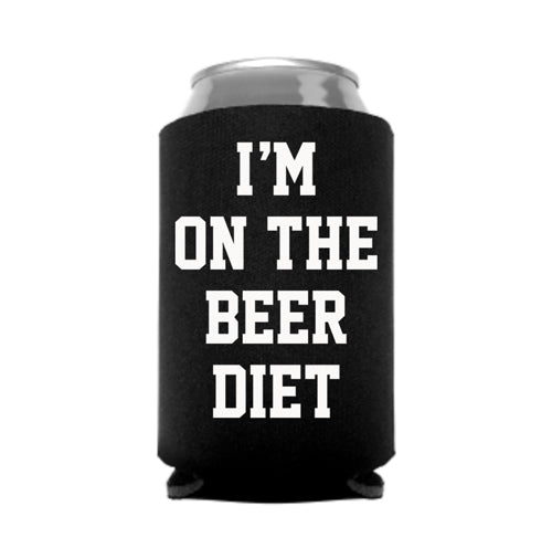 I'm on the Beer Diet Can Koozie