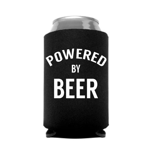 Powered by Beer Koozie