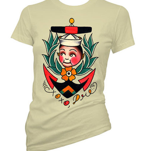 Kewpie Anchor Women's T-Shirt