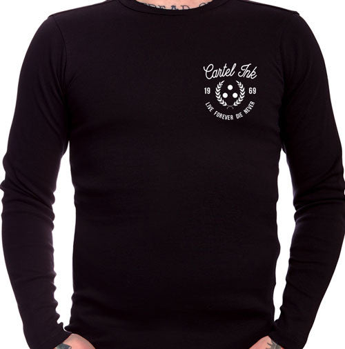 Live Forever Die Never Long Sleeve T-Shirt