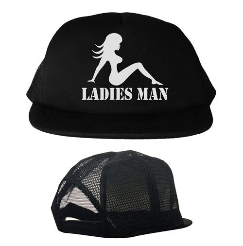 Ladies Man Youth Trucker Hat