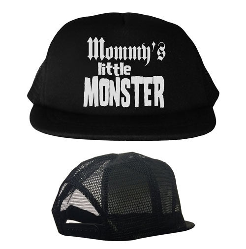 Mommy's Little Monster Youth Trucker Hat
