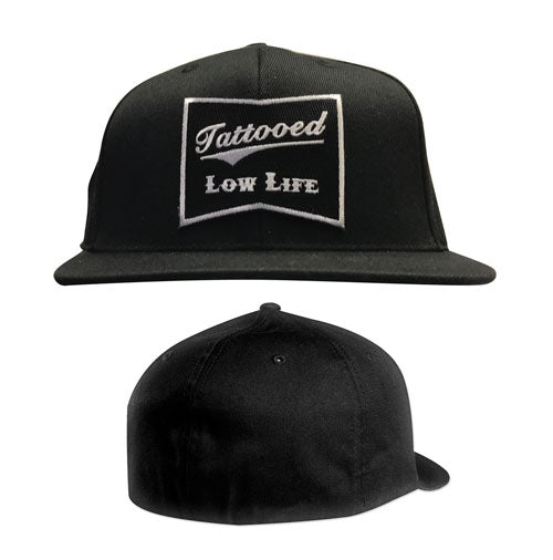 Tattooed Low Life Flex Fit Hat