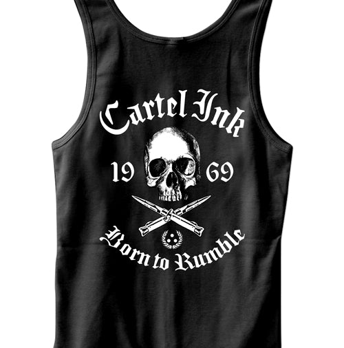 Pocket Born To Rumble Men's Tank Top