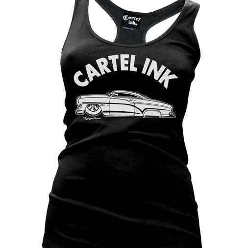 Rolling Hard Women's Racer Back Tank Top