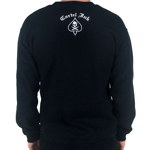 Born To Rumble Crew Neck Sweat Shirt