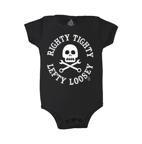 righty tighty lefty loosey onesie infant