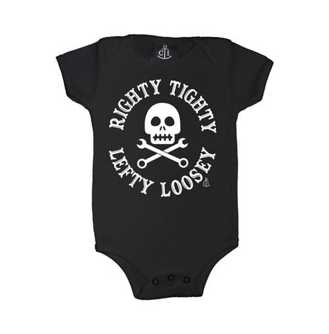 Righty Tighty Lefty Loosey Infant's Onesie