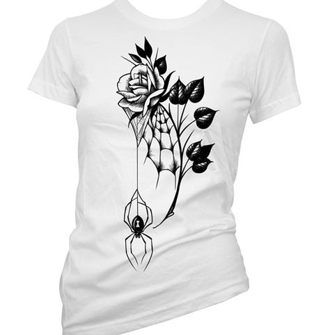 Rosa Sugar Skull Women's T-Shirt
