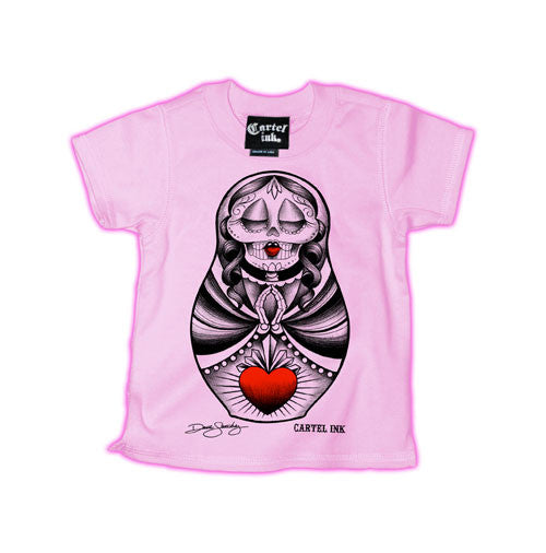 Sacred Heart Doll Kid's T-Shirt
