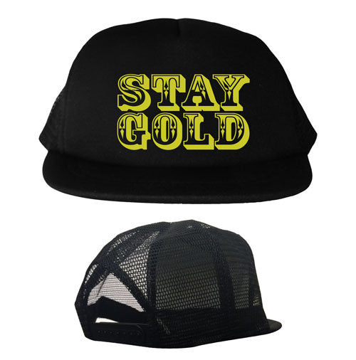 Stay Gold Youth Trucker Hat